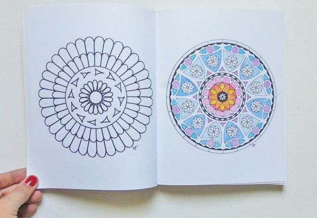 coloriage antistress mandala