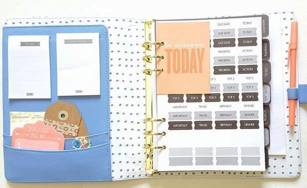 Time planner kikki k organisation